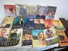 BEVERLY LEWIS AMISH BOOKS 17 BOOKS THE PRODIGAL COVENANT SACRIFICE SARAH CAIN ++