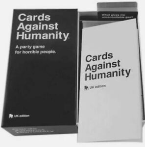 NEW Cards Against Humanity : UK Edition. Card Games, Entertainment, Party