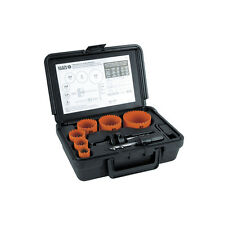 Klein Tools 31902 8-Piece Bi-Metal Hole Saw Kit **Free Shipping**