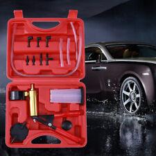 Hand Held Vacuum Pressure Pump Set Car Brake Fluid Bleeder Tester Kit