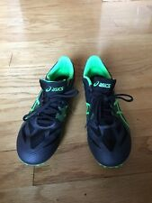 ASICS HYPER MD METAL TRACK MENS SPIKES SIZE US 9.5 PREOWNED CROSS COUNTRY SHOES