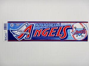 Anaheim Angels Bumper Sticker/Strip (Major League Baseball)(Wincraft)