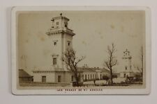 Le Havre Les Phares Sainte-Adresse France Cdv Photo Vintage Albumine