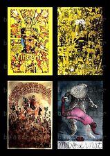 MARTIN SHARP Psychedelic Postcards Vincent Van Gough Max Ernst Oz 5 Flower Child