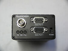 Teledesign TS4000/Wireless Tranciever/RS232 Adapter Serial  Radio Modem 403-419M