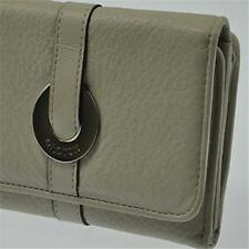 New Oroton Essentials Highfold Leather Ivory Clutch Purse Wallet Rrp $195 Womens