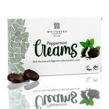 Whitakers Mint Chocolate Creams Cremes Fondant Plain Dark chocolate 150G