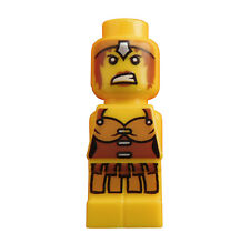 Lego 4x Microfig Champion Female Yellow Warrior Mikrofigur Neu Micofig