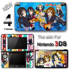 K-ON! Amazing Cute Vinyl Skin Sticker Cover Decal #1 for Original Nintendo 3DS