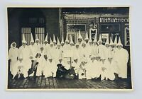 "Rare K.K.K. Vintage Klan Photo 6.5"" X 4.5""  Black and White Original"