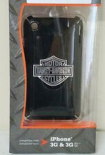 NEW Harley-Davidson fuse phone case for iPhone 3G and 3GS, black #91