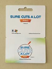 Sure Cuts A Lot 4 PRO Electronic Cutting Machine Software