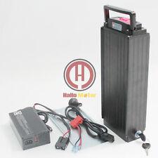 48V 20AH Samsung ICR18650-22P Rear Carrier Li-ion Ebike Battery Akku Li-Po