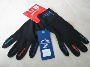 NEW TCS New York City Marathon NEW BALANCE Unisex Gloves sz XL BLACK