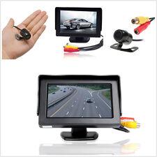 "Car Rearview Backup 4.3"" Display Monitor +Reverse Parking 170° Wide Angel Camera"