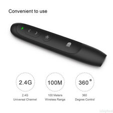 Clicker Pen Wireless PowerPoint Presenter Laser Presentation Remote Control 100M