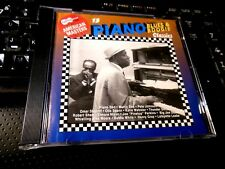 Arhoolie Presents American Masters, Vol. 8: 15 Piano Blues & Boogie Classics CD