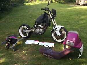GILERA NORDWEST 600 MOTORCYCLE 1994 Almost Complete For Spares Or Repair
