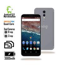 4G LTE unlocked Android 6 SmartPhone [5.6-inch + QuadCore CPU + 2SIM] Black