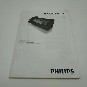 Philips Magic 5 Eco Faxgerät Bedienungsanleitung PPF-676 Komplett auf Deutsch