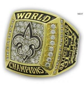High quality 2009 New Orleans Saints World Championship Ring //-