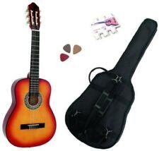 Pack Guitare Classique 3/4 (8-13ans) Pour Enfant Avec 3 Accessoires (sunburst)