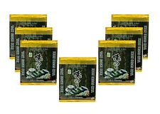 7x Yaki Sushi Nori Algen a 25g = 70 Blätter Sushiblätter Seetang algenblätter