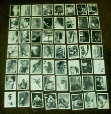 56 X 1967 JAMES BOND THUNDERBALL SOMPORTEX BUBBLE GUM CARDS EXCELLENT SUPERB