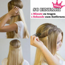 """15""""-24""""Invisible Remy Hair Extension Wire Filp IN Headband Crown Extensions 80g"""