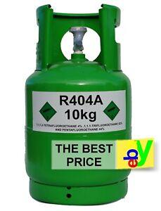 r404a Refrigerant Gas 10 kg Virgin Refillable Cylinders