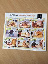 Briefmarkenblock Die drei kleinen Schweinchen