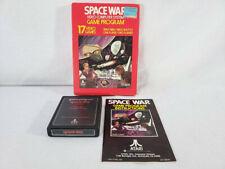 Atari 2600 Black Label Game - Space War - COMPLETE In Box - (7800)