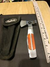 Sheffield Combination Hatchet, Knife, Saw, Ruler, Screwdriver & Bottle Opener &
