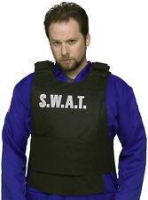 Para Hombre señoras Swat equipo de chaleco de Policia Fbi Tactical Fancy Dress Outfit