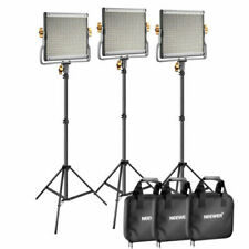 Premium 200cm Light Stand for Studio YouTube Video Outdoor Shooting Neewer 3 Packs 660 LED Video Light Photography Lighting Kit with Stand Dimmable 3200-5600K CRI96 LED Panel