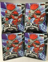 MIGHTY MORPHIN POWER RANGERS THE MOVIE THE LOYAL SUBJECTS ACTION VINYLS 4 BOXES