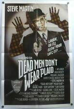 Steve Martin Dead Men Don't Wear Plaid Original 1982 1 Sheet Movie Poster