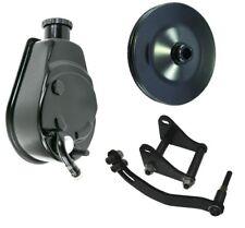 Power Steering Pump + Bracket Small Block Chevy Saginaw P Pump 305 327 350 400