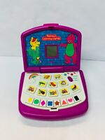 Barney's Learning Laptop Electronic Interactive Toy 1999 Vintage Learning Toy