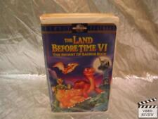 The Land Before Time VI: The Secret of Saurus Rock (VHS, 1998, Clamshell Rele...