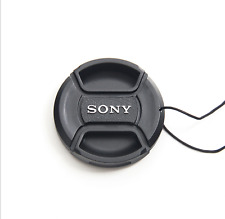 "Sony Alpha Snap-on 49mm Lens Cap with ""sony"" letters -UK Stock - Fast Delivery"