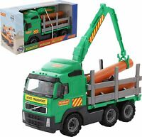 Toy Timber Truck Power Truck Volvo Lorry Play Car Set Large