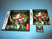 Ghostbusters: The Video Game Nintendo DS Lite DSi XL 3DS 2DS w/Case & Manual