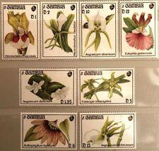 GAMBIA 1994 1866-73 Block 225-26 Orchideen Orchids Blumen Flowers Flora MNH