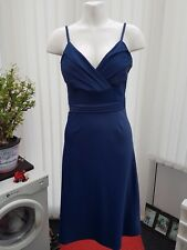 "Ladies ""Enchanted by Ann Louise Roswald"" Blue Cocktail Dress (Size 16)"