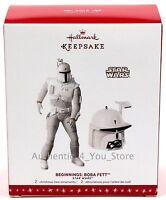 SDCC 2016 Boba Fett Beginnings Hallmark Keepsake Ornament - Star Wars McQuarrie