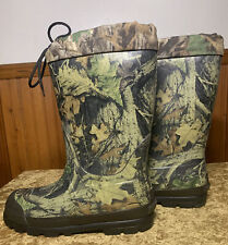 Men's Itasca  Rubber Camo Waterproof MidCalf Boots Thinsulate STEEL SHANK SZ 10