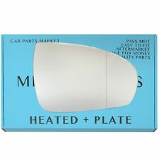 For Mercedes CLC-Class 2008-11 Right side Aspheric Electric mirror glass +plate