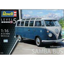 Revell Germany 7009 VW Volkswagen  TYPE 2 T1 SAMBA BUS plastic model kit 1/16