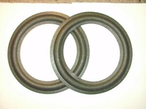 """One pair of 8"""" MOREL  foam surrounds. eg  MW 220 , MLP 206  etc. See list."""